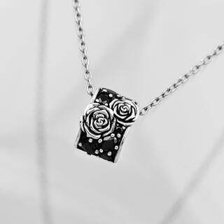 ジャスティンデイビス(Justin Davis)の美品!Justin Daivis snj368 ROSETTE necklace(ネックレス)