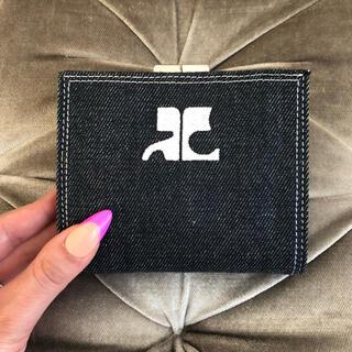 クレージュ(Courreges)の未使用品‼️クレージュ ❤︎ ヴィンテージ デニム 折り財布(財布)