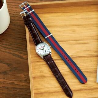 スヌーピー(SNOOPY)のSNOOPY スヌーピー気分で変えられる!替えベルト付き腕時計(腕時計)