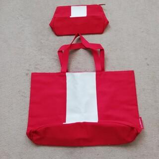 クラランス(CLARINS)の【値下げ】おまとめ♪トートバッグとポーチの親子セット(トートバッグ)