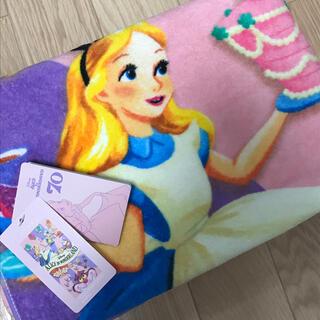 ディズニー(Disney)の新品 ディズニー 不思議の国のアリス うさぎ チェシャ猫 トランプ 女の子 限定(タオル/バス用品)