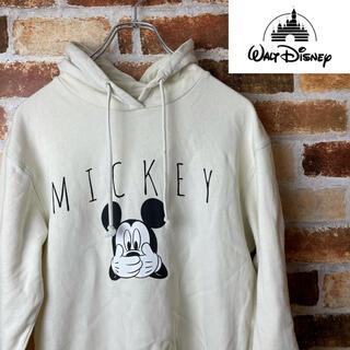ディズニー(Disney)のDisney ディズニー ヴィンテージ パーカー USA製 レディースS(パーカー)