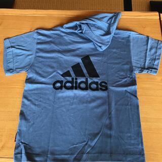 adidas - アディダス adidas キッズパーカーTシャツ  160 新品