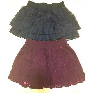 エアロポステール(AEROPOSTALE)のエアロポステール  ミニスカート 二枚セット(ミニスカート)
