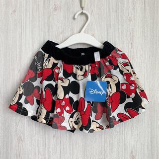 ディズニー(Disney)の【新品】ミニーマウス♡スカート 110(スカート)