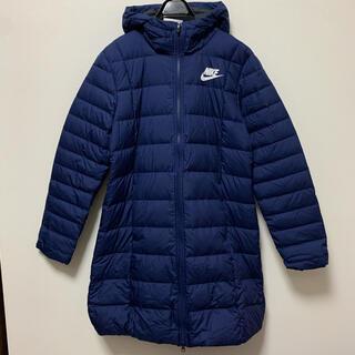 ナイキ(NIKE)のナイキ フィル ダウン パーカ 紺 ジャケット ロングコート 防寒 【XL】(ダウンジャケット)