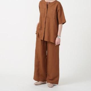 コーエン(coen)のcoenリネンレーヨンセットアップ(シャツ/ブラウス(半袖/袖なし))