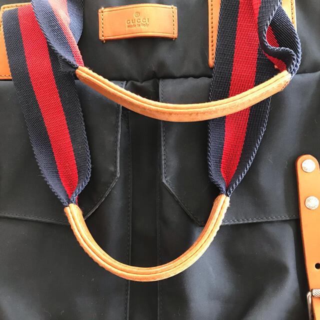 Gucci(グッチ)のグッチ GUCCI ラージトートバッグ メンズのバッグ(トラベルバッグ/スーツケース)の商品写真