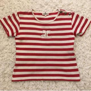 クレージュ(Courreges)のCourreges tops / クレージュ ボーダー トップス Tシャツ(Tシャツ(半袖/袖なし))