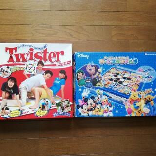 ディズニーキャラクターズ ゲームスタジアム3オセロ&ツイスター(オセロ/チェス)