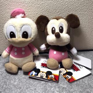 ミッキーマウス - ぬいぐるみ ミッキー ドナルド 2点セット 送料込み