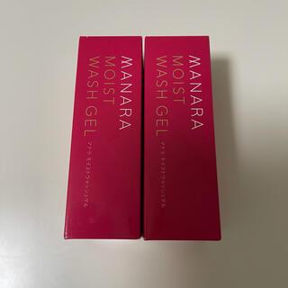 maNara - 新品 マナラ モイストウォッシュゲル 美容液洗顔料  120ml 2箱