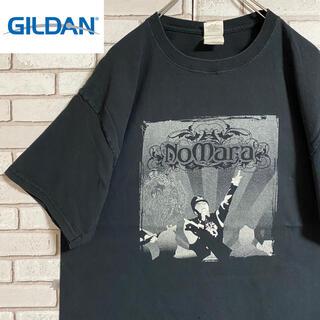 GILDAN - 90s 古着 ギルダン Tシャツ 両面プリント ビッグシルエット ゆるだぼ