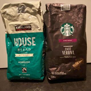 スターバックスコーヒー(Starbucks Coffee)のスターバックス コーヒー豆 カフェヴェロナ ハウスブレンド(コーヒー)