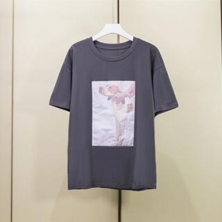 ACNE - 21新モデルacne子犬柄tシャツ