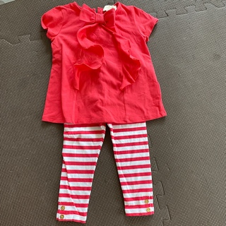 ケイトスペードニューヨーク(kate spade new york)の【katespade】【86センチサイズ表記】リボンTシャツ(Tシャツ)