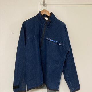 カブー(KAVU)の🧥KAVU(カブー)古着  スローシャツ ハーフジップ デニム(マウンテンパーカー)
