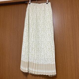 オペーク(OPAQUE)のオペーク プリーツスカート 未使用(ロングスカート)