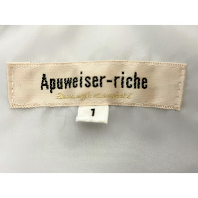 Apuweiser-riche(アプワイザーリッシェ)の【Apuweiser-riche】パール付ボウタイワンピース レディースのワンピース(ひざ丈ワンピース)の商品写真