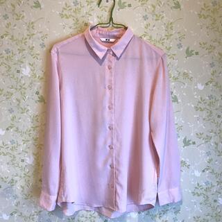 UNIQLO - ユニクロ シャツ ピンク Sサイズ