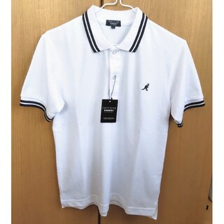 カンゴール(KANGOL)の新品★KANGOL ポロシャツ 白 Sサイズ(ポロシャツ)