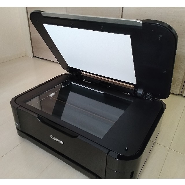 Canon(キヤノン)の【Canon】PIXUS MG6130ブラック(別売 接続USBケーブル同封) インテリア/住まい/日用品のオフィス用品(OA機器)の商品写真