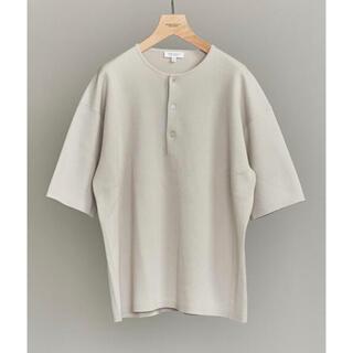 ビューティアンドユースユナイテッドアローズ(BEAUTY&YOUTH UNITED ARROWS)のBeauty & Youth ミラノリブ ヘンリーネック Tシャツ XL(Tシャツ/カットソー(半袖/袖なし))