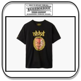 NEIGHBORHOOD - ネイバーフッド  半袖 Tシャツ - VERTIGO- ブラック 「M」