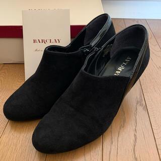 BARCLAY - BARCLAY バークレー ショートブーツ ブーティ ブラック 23cm