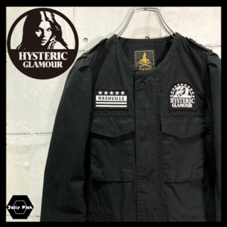 HYSTERIC GLAMOUR - 【美品】HYSTERIC GLAMOUR/ヒステリックグラマー ミリタリーJKT