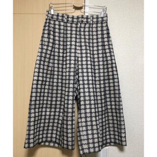 ジエダ(Jieda)のMASU★20aw JACQUARD CHECK PLEATED PANTS(ショートパンツ)