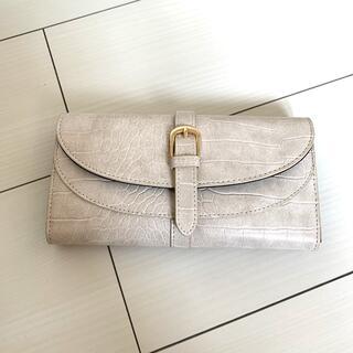 シマムラ(しまむら)のMUMU ベルト型押し長財布(財布)