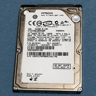 ヒタチ(日立)のHITACHI 2.5インチ HDD 160GB(PC周辺機器)