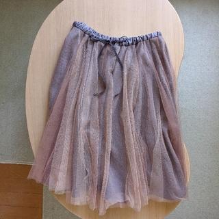 ウィルセレクション(WILLSELECTION)のウィルセレクション チュールスカート(ひざ丈スカート)