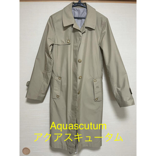 アクアスキュータム(AQUA SCUTUM)の【美品】Aquascutum アクアスキュータム コート(スプリングコート)