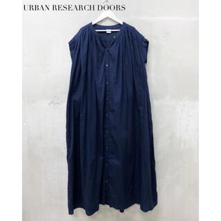 DOORS / URBAN RESEARCH - 【URBAN RESEARCH DOORS】ギャザーワンピース アーバンリサーチ