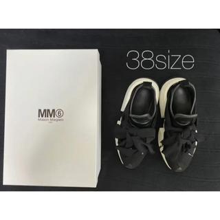 Maison Martin Margiela - MM6 メゾンマルジェラ リボン タイ スニーカー 38サイズ
