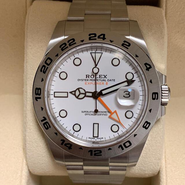 ROLEX(ロレックス)の未使用  ロレックス エクスプローラー2  216570最終 メンズの時計(腕時計(アナログ))の商品写真