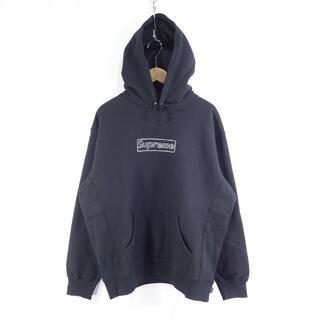 シュプリーム(Supreme)のSupreme 21ss Kaws Chalk Logo Hooded 大名(パーカー)