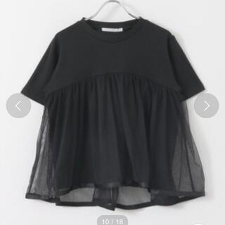 ケービーエフ(KBF)のKBF チュールTシャツ(Tシャツ(長袖/七分))
