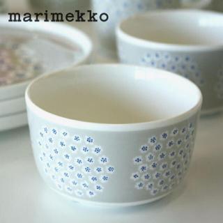 marimekko - marimekko PUKETTI プケッティ ボウル グレー 皿 食器 ボール
