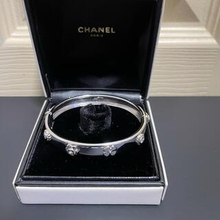 CHANEL - ❤︎   CHANEL  レア スリーシンボル 18WG ブレスレット ❤︎