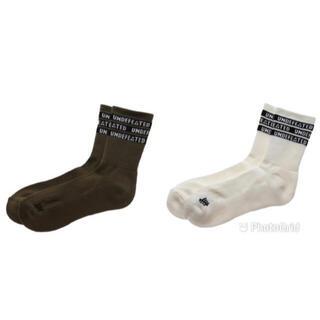 アンディフィーテッド(UNDEFEATED)の新品 2足セット undefeated 靴下 sock ソックス(ソックス)