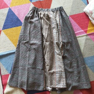 アトリエドゥサボン(l'atelier du savon)のアトリエドゥサボン チェックのスカート(ロングスカート)