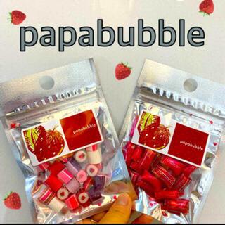 2種‼️papabubble Candy strawberry 🍓限定イチゴ(菓子/デザート)