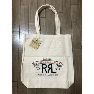 ダブルアールエル(RRL)のRRL キャンバストートバッグ タグ付き新品(トートバッグ)