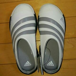 アディダス(adidas)のアディダス トアロ2(adidas Toalo 2)白灰黒 25.0㎝(サンダル)