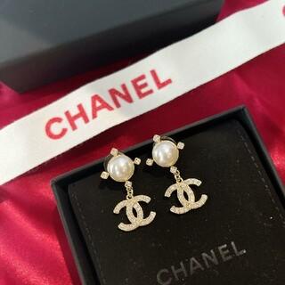 シャネル(CHANEL)の21SS Chanel ピアス イヤリング(ピアス)
