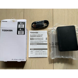 東芝 - 東芝 ポータブルHDD  4TB