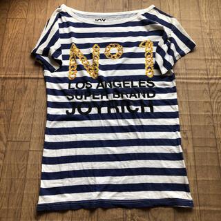 ジョイリッチ(JOYRICH)のJOYRICHジョイリッチボーダールーズTシャツ(Tシャツ(半袖/袖なし))